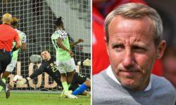 Rangers fans taunt Charlton boss Lee Bowyer after Joe Aribo scores against Brazil